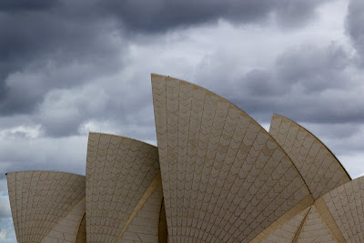 The Sails of the Opera House - Sydney, Australia
