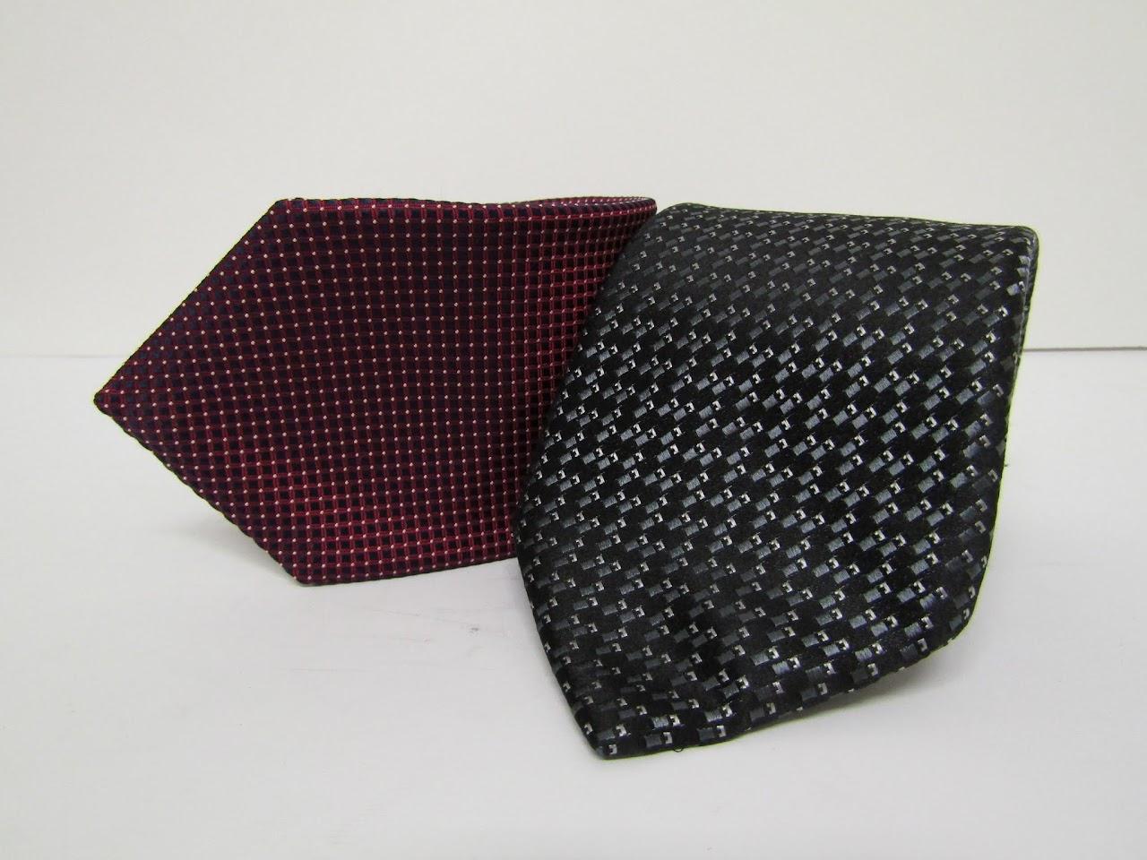 Eton & Lanvin Tie Pair