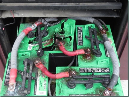 Motorhome battery pictures