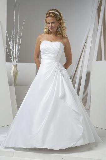 trägerlosen  wedding dresses  pics