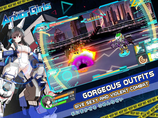 Armor Girls - Z Battle screenshot 12