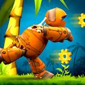 Maxim the robot: Run & Jump icon