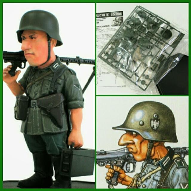 German Army Infantryman maqueta