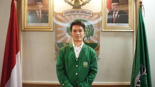Mahasiswa Unand Refan Rahmaddiansyah Raih Pemenang I Pilmapres Tingkat Nasional