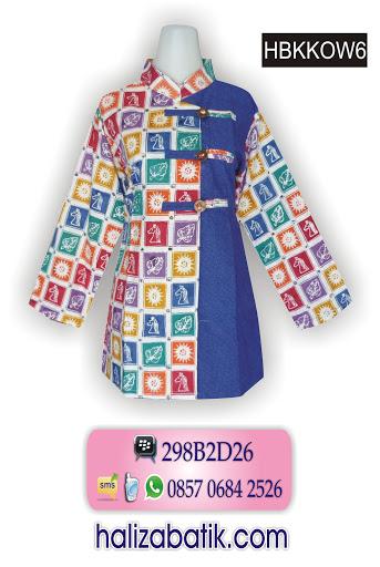 HBKKOW6 Contoh Gambar Batik, Baju Batik Terbaru, Belanja Baju Online, HBKKOW6