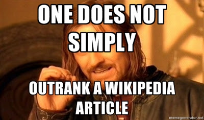 SEO Boromir on Search Engine Rankings