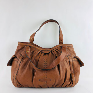 Cole Haan Ruched Leather Bag