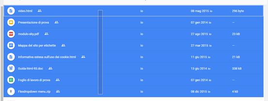 selezionare-elementi-google-drive