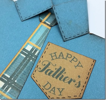Father's Day Card - detail