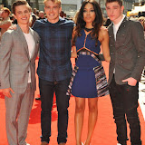 OIC - ENTSIMAGES.COM - Richard Risker, Bobby Lockwood, Dionne Bromfield and George Sear at the UK premiere of Up All Night at at Vue Leicester Square London 10th May 2015  Photo Mobis Photos/OIC 0203 174 1069