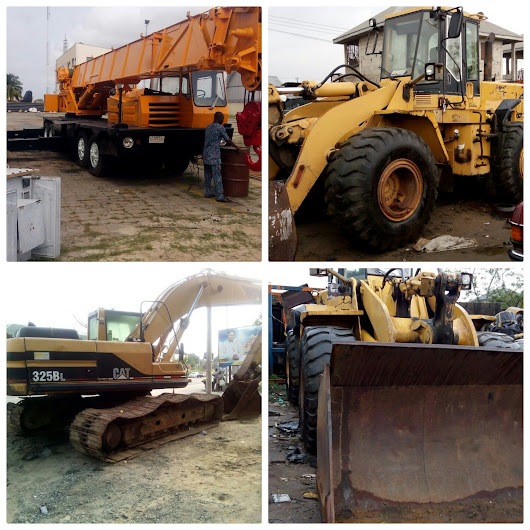 HEAVY-DUTY EQUIPMENTS FOR HIRE FROM PH TO ANYWHERE IN NIGERIA