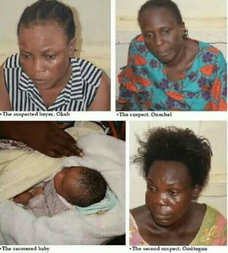 SHOCKING: Nurses Sell Baby For N350k In Lagos (Photo)