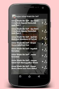 Kajian Azhar Khalid Bin Seff - náhled
