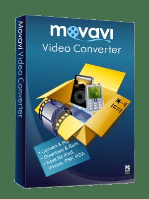 программой Movavi Конвертер Видео