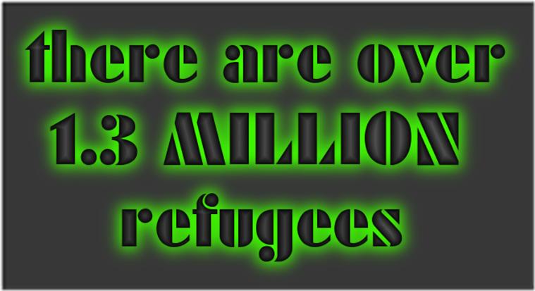 1.3 million refugees-SV