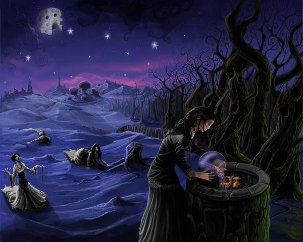 Road Of Dead Magic, Night Magic