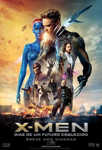 X-Men - Dias de um Futuro Esquecido - Pôster nacional