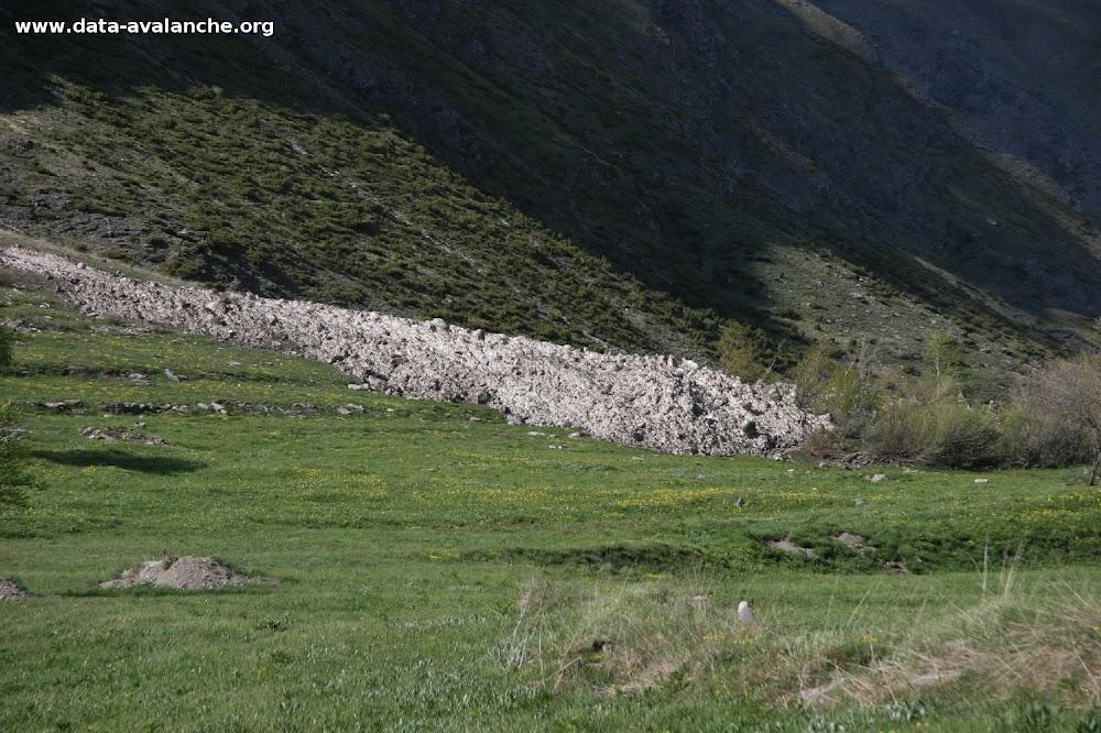 """Avalanche Haute Maurienne, secteur Pointes du Châtelard, couloir de """"Resart"""" ou """"Regirard"""" - Photo 1"""