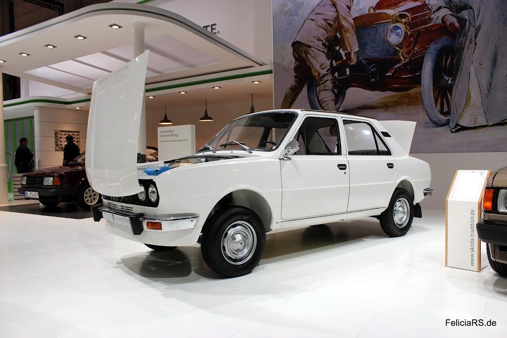 Prototyp auf S105 Basis mit Frontmotor und Frontantrieb