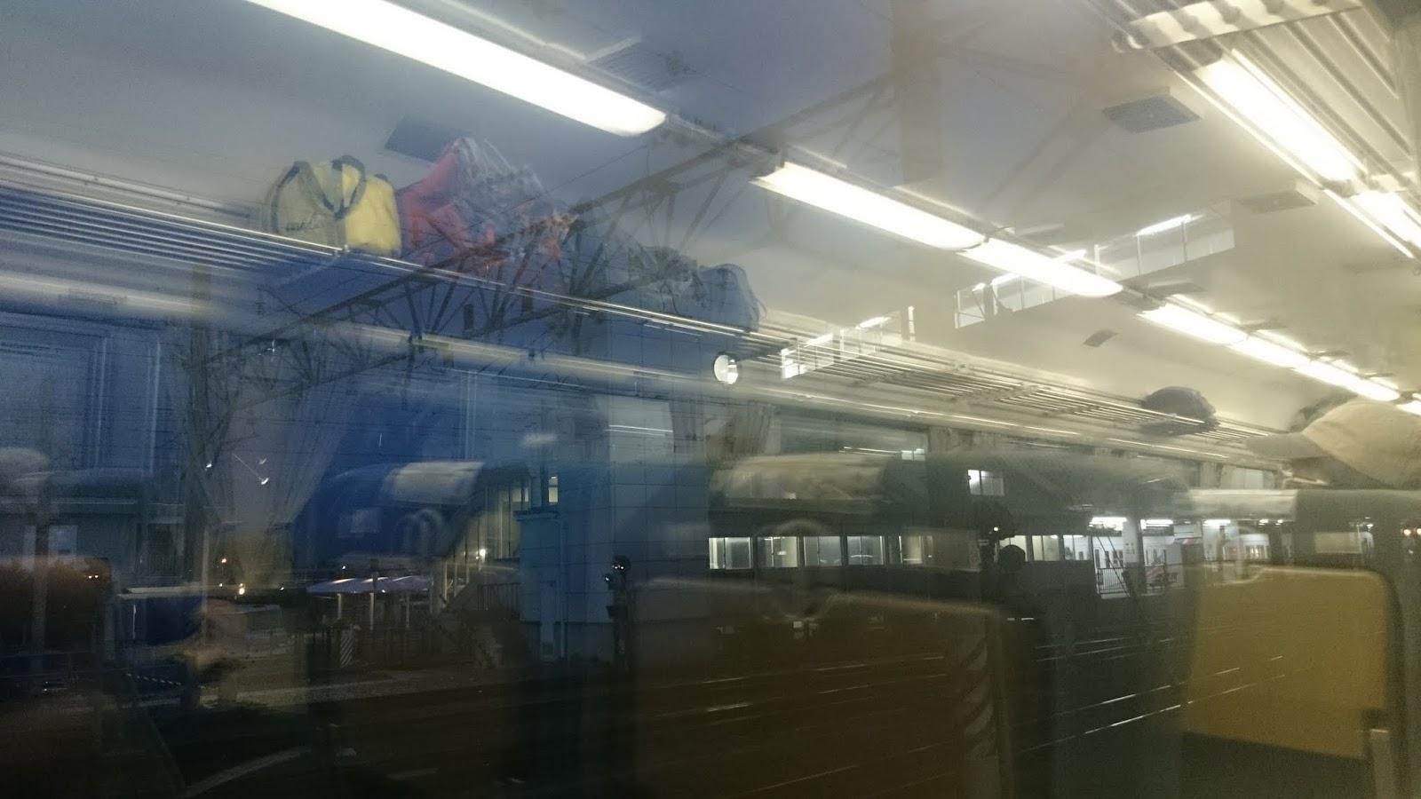 4:32 松本駅到着