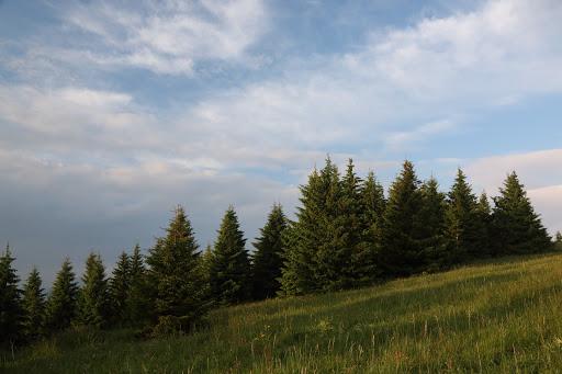 Na hrebeni Lysca