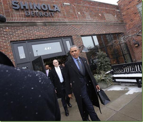 obama shinola