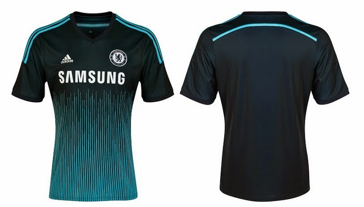This is the new Chelsea third kit which was released today by Adidas and it  comes with a unique dark blue and light blue design with samsung beats bfdb77d71