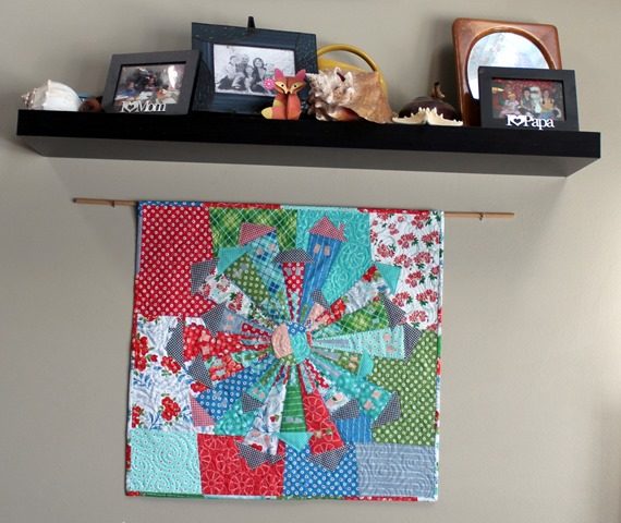 Hazel Dresden Neighborhood Quilt by Kim Lapacek