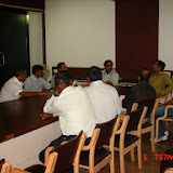 Demonstration of Amateur Radio Satellite communication to Mr Annadurai and Mr Raghavamurthy - DSC00167.JPG