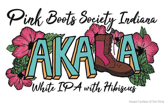 Sun King Tapping Pink Boots Society Akala IPA 4/12