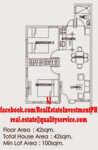 Aralia Bungalow Floor Plan