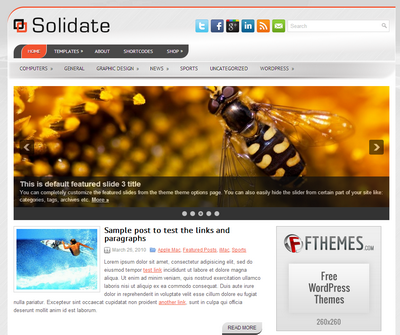 Solidate – by Fthemes