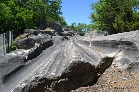 Glacial Grooves - looks like a waterslide