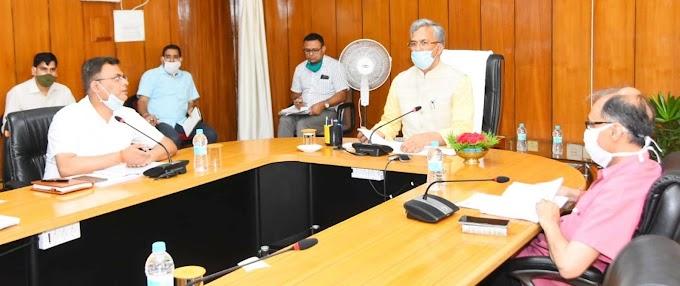 CM Trivendra Singh Rawat: जल जीवन मिशन की समीक्षा की कार्य शीघ्र सुरु