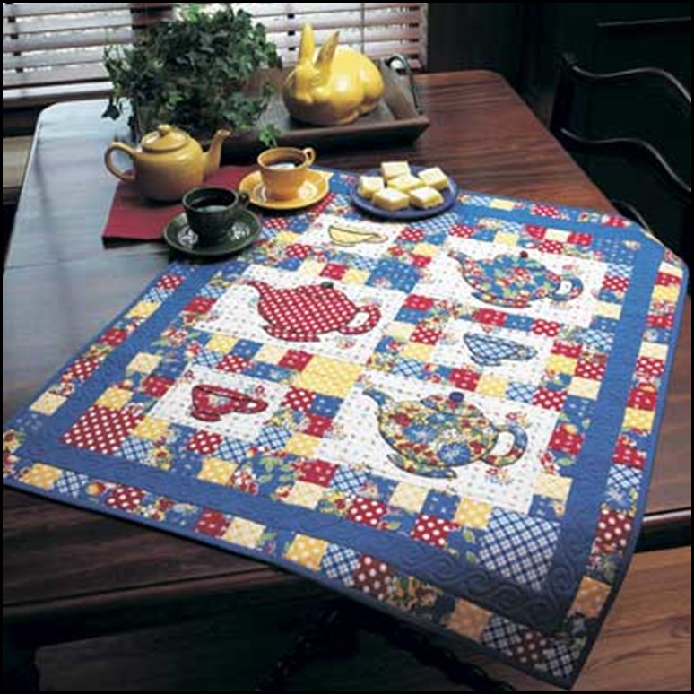 The Gazebo House: Tea Party Picnic for my Quilt Guild