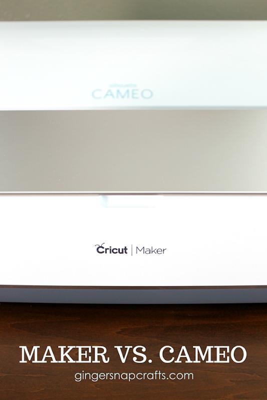 Cricut Maker vs. SilhouetteCameo #CricutMaker #SilhouetteCameo