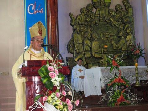 Khai mạc năm thánh 60 năm tại giáo xứ Khiết Tâm - Giáo hạt Nha Trang