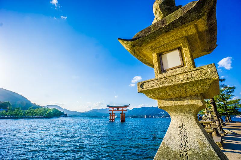 Miyajima Mikasa-no-hama Itsukushima Shrine O-torii Gate (the great Torii)2