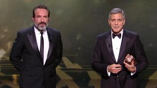 George Clooney et Jean Dujardin