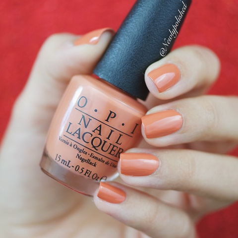 OPI Kerry Washington DC AW 2016 Freedom of Peach