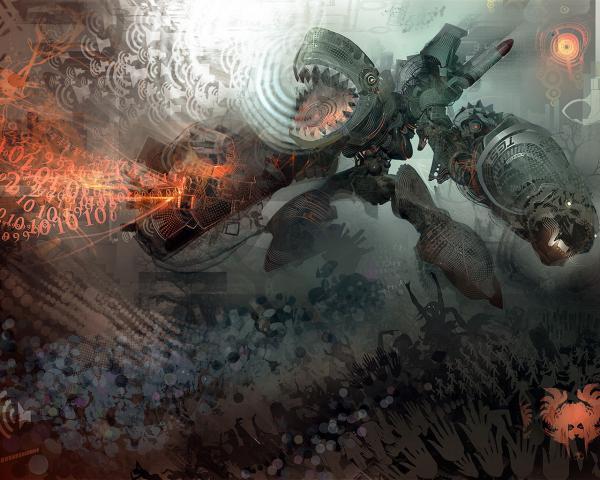 Fantasy Of Horror Landscape, Fantasy Scenes 3