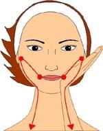 Шаг 8. Разглаживаем среднюю и нижнюю часть лица 2