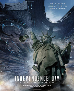 Independence Day – O Ressurgimento Torrent (2016) HDRip 1080p Dublado
