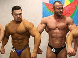 Back Stage Bodybuilders