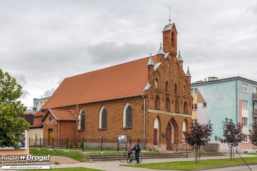 Czerwona Warmia - zabytkowa cerkiew w Braniewie