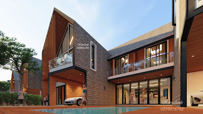 รับออกแบบบ้านสไตล์นอร์ดิก NordicStyle