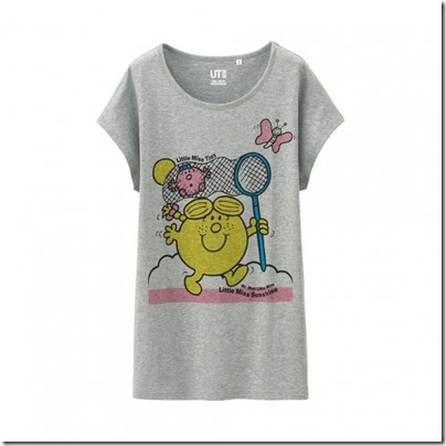 UNIQLO Mr. Men Little Miss UT Graphic T-Shirt woman 06