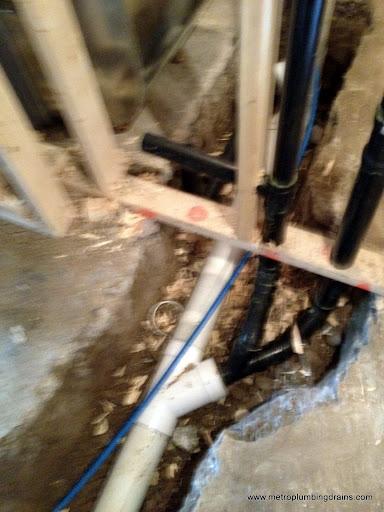 Rough-in Basement Bathroom