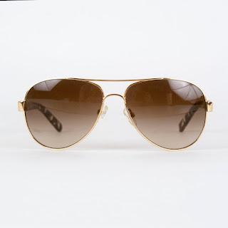 Tory Burch Aviator Sunglasses