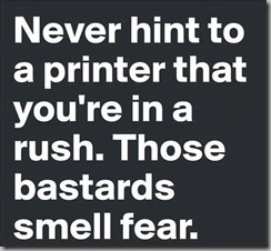 never hint printer